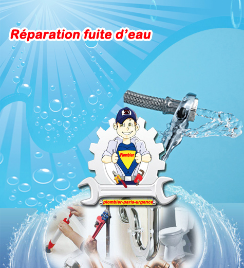 Réparation fuite d'eau à paris 0 1 43 66 77 01